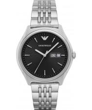bc77f2622dc1e Emporio Armani AR1977 Mens vestido de prata pulseira de aço relógio
