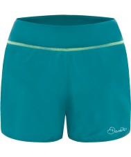 Dare2b DWJ344-0FV08L Ladies sucessão de esmalte shorts azuis - tamanho uk 8 (xs)