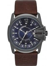 c2310c01942 Diesel DZ1618 Mens chefe mestre de couro marrom escuro relógio de pulseira