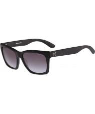 Karl Lagerfeld Homens kl871s fosco óculos de sol pretos