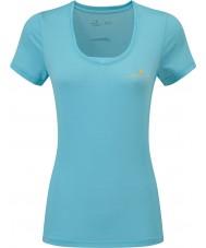 Ronhill RH-002263Rh-00255-16 Ladies stride t-shirt ss zelo