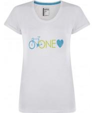 Dare2b DWT319-90010L Ladies um amor branco t-shirt - o tamanho uk 10 (s)