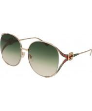Gucci Ladies gg0225s 003 63 óculos de sol ebc97f8f5a