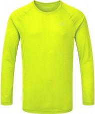 Ronhill RH-001866R010-XL Mens antecedência fluo movimento amarela T longo da luva - tamanho xl