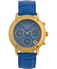 fc3d97d6f6b Krug-Baumen 150578DL Relógio de diamante de princesa