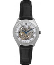 c090f217cb1 Rotary GS90508-02 Mens les originales jura automática esqueleto relógio de  prata