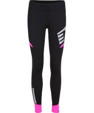 Newline 13117-066-S Ladies visio calças cor de rosa preto - tamanho s