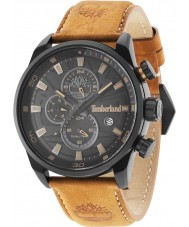 14a88df7bba Timberland 14816JLB-02 Mens Henniker ii laranja pulseira de couro relógio